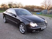 2006 MERCEDES CLK COUPE 200 KOMPRESSOR AVANTGARDE 6 SPEED MANUAEL