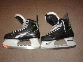 Rebook 9k ice hockey skates - essentially brand new