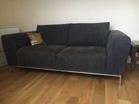 Natuzzi Italian Designer Large 2 Seater Sofa £900 New