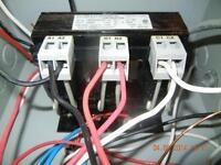 Rectifieur de courant (line reactor) 240V triphasé 8 amp.