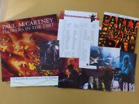 Beatles McCartney Tour Pack Flowers in the Dirt Vinyl PCSD 106 4-2U mint vinyl