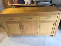 Light oak sideboard