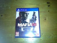 Mafia 3 for playstation 4 excellent condition