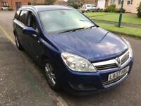 Vauxhall Astra automatic estate 2007 petrol 1.8 design long mot