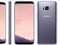 Samsung galaxy s8 Plus 64gb Unlocked immaculate condition with warranty and accessories