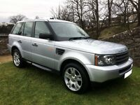 RANGE ROVER SPORT, 2006, 2.7 TDV6, 80K, LOW MILES & IN GOOD CONDITION FOR AGE