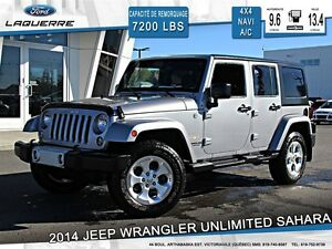 2014 Jeep Wrangler **UNLIMITED*SAHARA*NAVI*CRUISE*A/C**