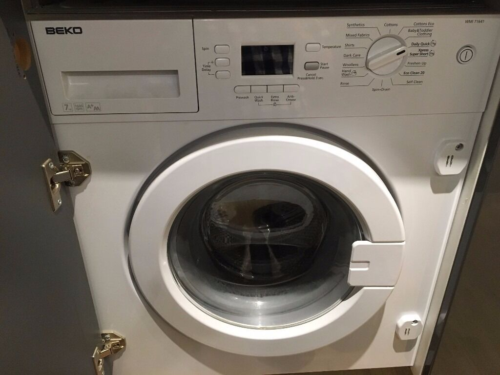 Built-in washing machine - Beko WMI71641 - great condition
