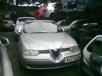 2001 ALFA ROMEO 156 1.9 JTD BREAKING FOR PARTS