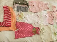 Pretty 0-3 month girl clothes