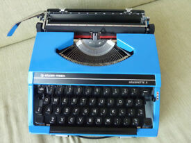 Siver-Reed Portable Typewriter