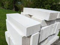 Ytong aerated concrete insulation blocks bundle of 78 blocks - 600 X 100 X 115
