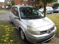 renault scenic 1.6 dynamique 5dr mpv automatic 2005 mot march 2018 some service history