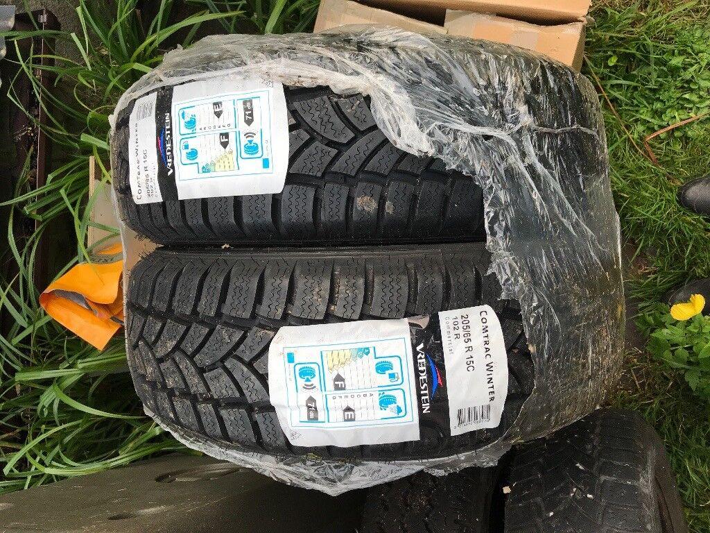 New winter tyres 205/ 65 R 15