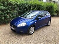 FIAT GRANDE PUNTO DYNAMIC SPORT 1 OWNER FROM NEW (blue) 2007