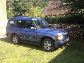 Landrover Discovery TD5 2002 lovely Metallic Blue Owned by me for last 10 years