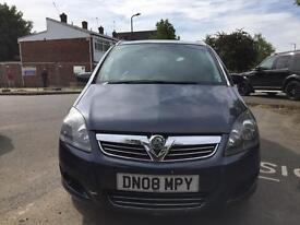 Vauxhall Zafira 1.8 petrol SRI