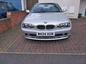 BMW 323Ci, manual, 98k