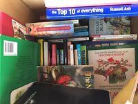 Large box full of books
