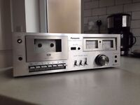Panasonic Cassette Deck 611 (For Parts Or Repair)