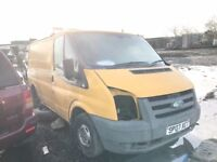 Ford transit spare parts available bumper bonnet wing light radiator gearbox seats injector turbo
