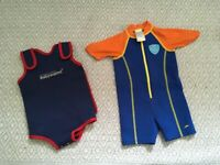 Baby and toddler wetsuit/ body warmers