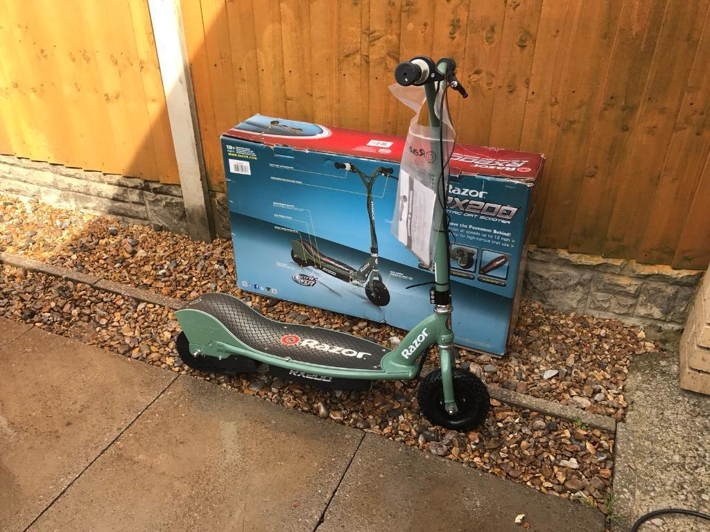 Razor rx200 electric scooter