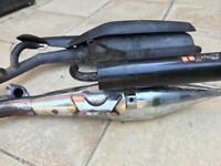 Yamaha Aerox exhausts