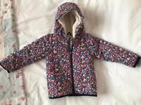 JoJo Maman Bebe Baby/Toddler Girls Coat/Jacket 18/24 Months In Good Condition!!