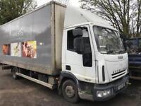Iveco euro cargo box truck 2007 spares or repairs