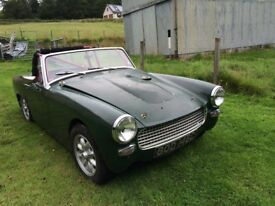 AUSTIN HEALEY SPRITE 1965 MODIFIED FIAT TWIN CAM 2 Litre 5 Speed Box