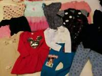 Bundle of girl clothes 2-3 yo