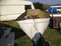 fishing boat hull-Tamar Tosher fibreglass hull