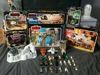 WANTED VINTAGE TOYS STAR WARS HE- MAN TURTLES ANYTHING CONSIDERED GOOD PRICES PAID