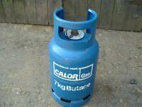 Calor Gas 'FULL' 7kg Butane gas bottle, can be delivered
