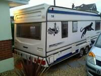 bailey senator 5 berth twin axle caravan