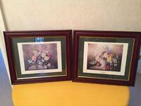 2 X prints 'Floral Classics'