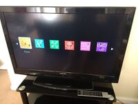 """Toshiba 37"""" LCD 1080p TV with remote control in very good condition"""