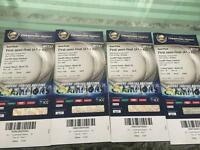 Cricket tickets