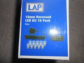 blue led lights kit