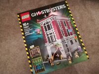 Lego ghostbusters firehouse headquarters 75827 brand new