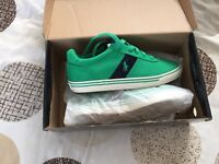 Genuine boxed Ralph Lauren trainers size (43) 9