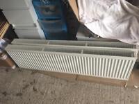 Two 1600mm x 450mm double radiators