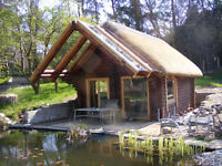 Bespoke Log Cabins, Gazebos and Other Timber Structures Made to Order - Hand Made in Scotland