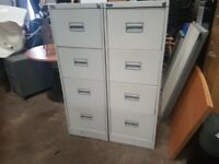 4 drawer filing cabinets 40 pounds each