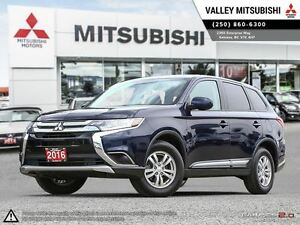 2016 Mitsubishi Outlander ES- HEATED SEATS, ALLOYS, WARRANTY!
