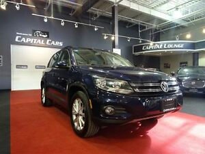 2012 Volkswagen Tiguan 2.0 TSI 4MOTION / LEATHER / PANO ROOF