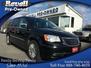 2012 Chrysler Town & Country Limited *1-owner,Leather,Nav,pLiftg
