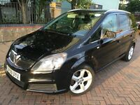 Vauxhall Zafira 2010 (59reg) Diesel, Automatic, MOT & PCO is Ready, Good Condition.