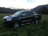2015 Toyota Hilux Invincible 3.0 NO VAT Black